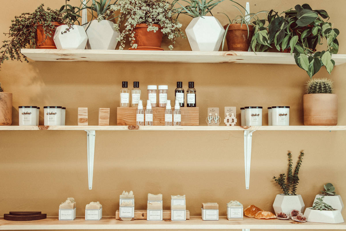 Featuring a rotating selection of locally-made goods, The Market Shop will celebrate its grand ...