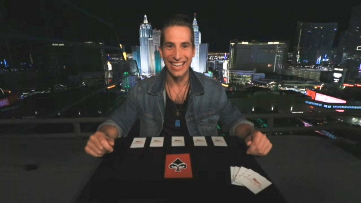 Mentalist Max Major is one of four Las Vegas contestants set to appear on the no-audience forma ...