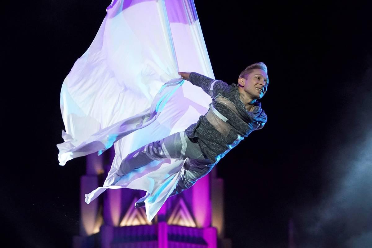 "Alan Silva is seen on ""America's Got Talent."" (Chris Haston/NBC)"