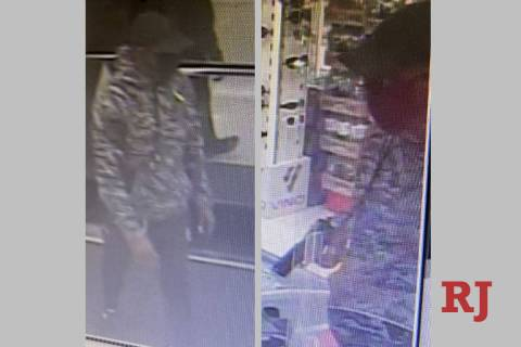 Police are seeking a man in connection to an armed robbery that occurred Sunday, Aug. 2, 2020, ...