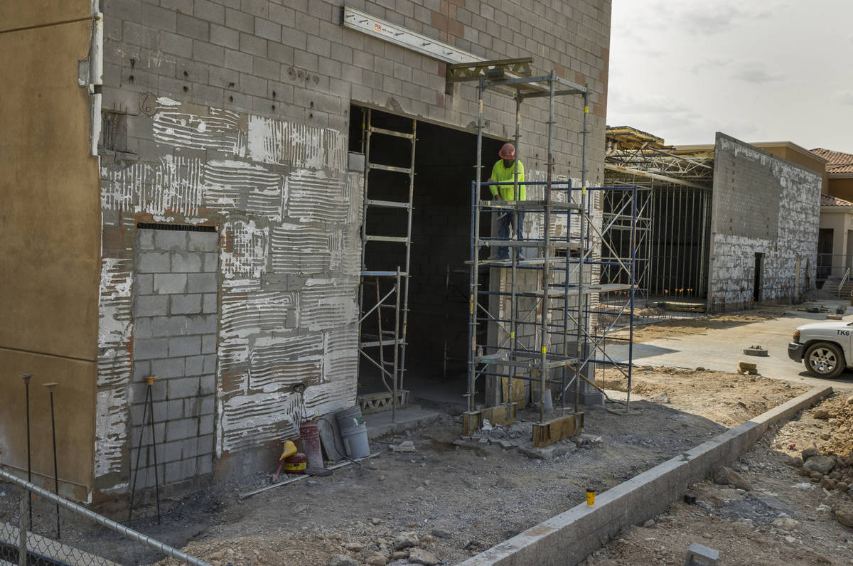 Dick's Sporting Goods store construction formerly a Sport Chalet in the Crossroads Commons stri ...