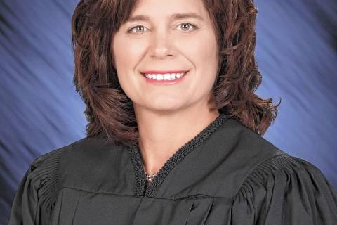 Las Vegas Justice Court Judge Diana Sullivan.