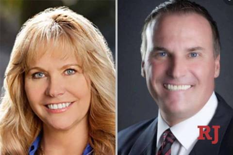 "Crystal Eller and William ""Bill"" Kephart, candidates for District Court Departmen ..."