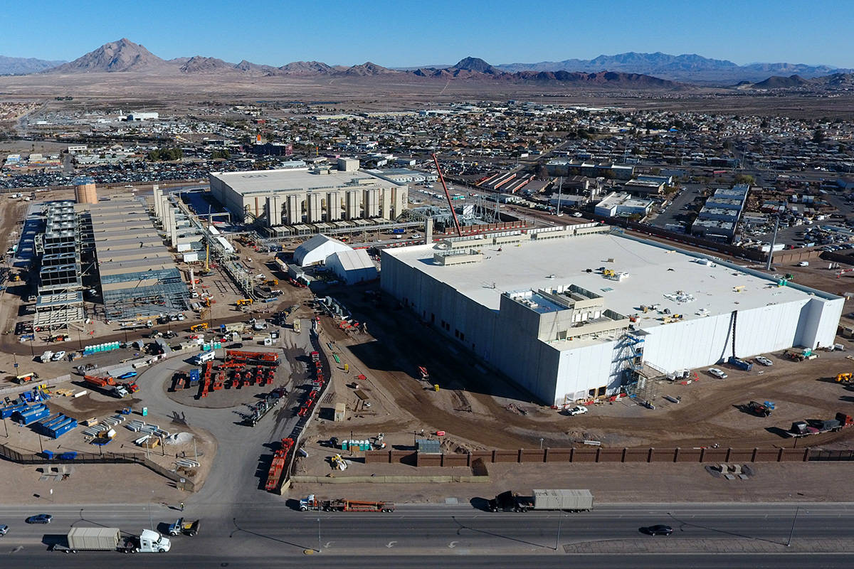 Google Plans Additional 600m Into Henderson Facility Las Vegas Review Journal