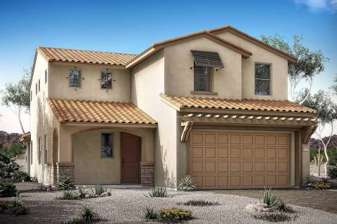 Woodside Homes will showcase three new home models in its new Skye Canyon neighborhood, Ridgevi ...