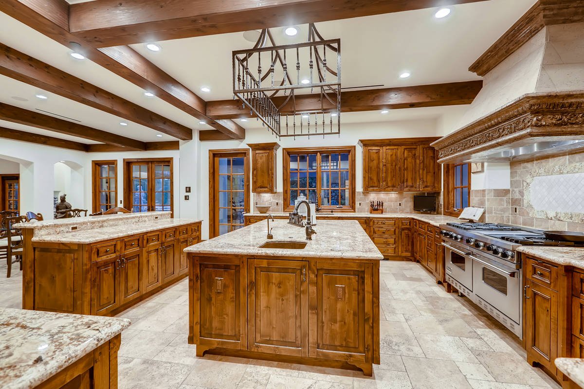 The kitchen. (The Crampton Team)