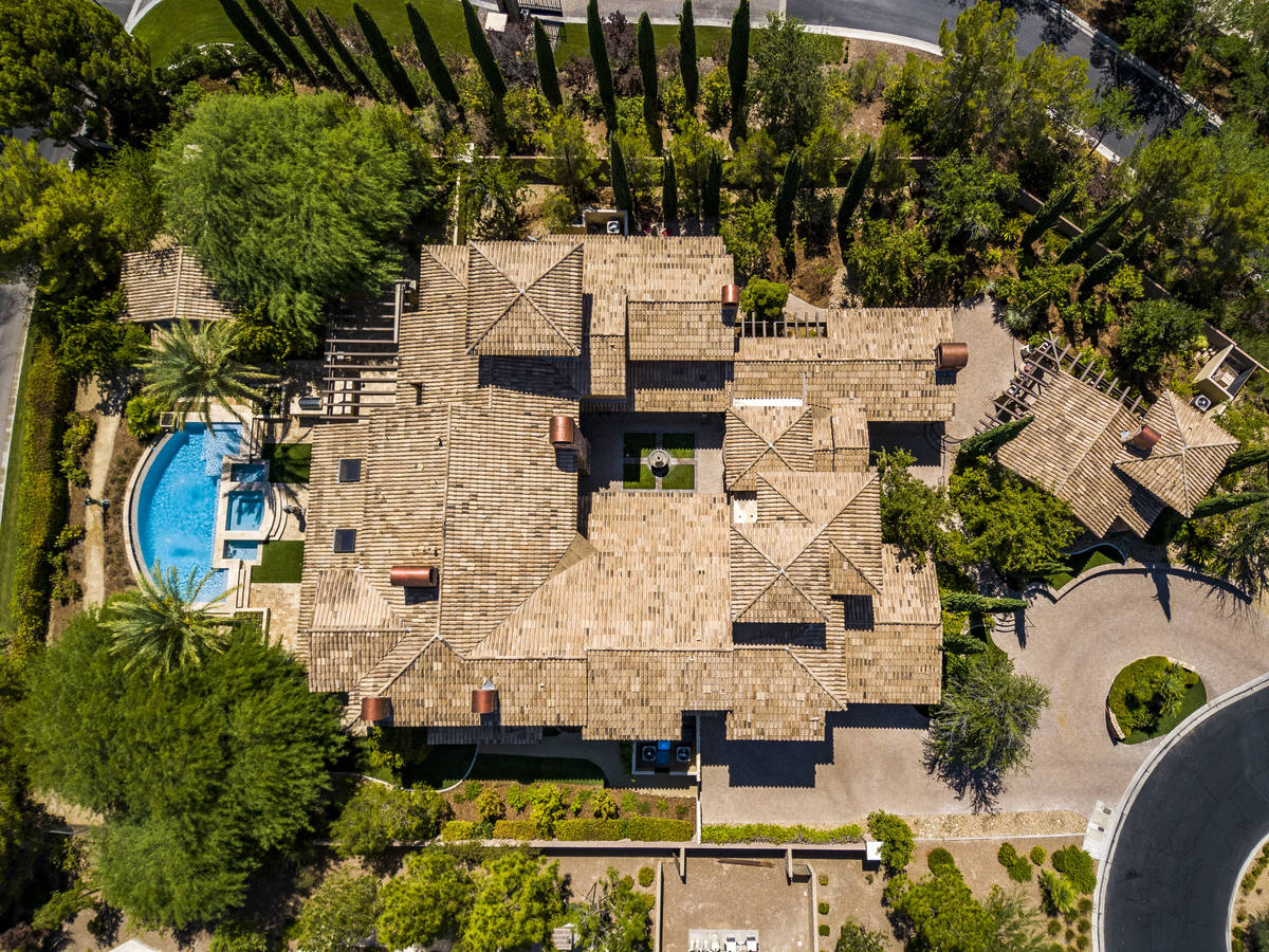 The home sits on nearly 1 acre and has two casitas, a fruit orchard and rose garden. (The Cramp ...