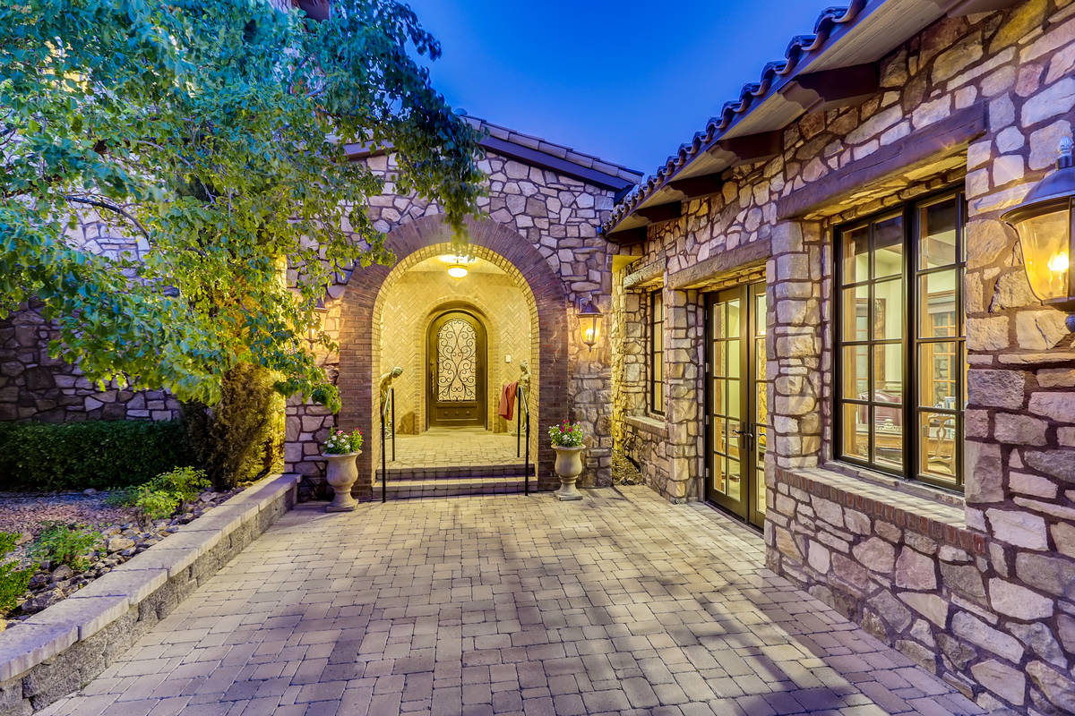 The home has two unattached casitas. The larger one is at the entrance of the home. (The Crampt ...