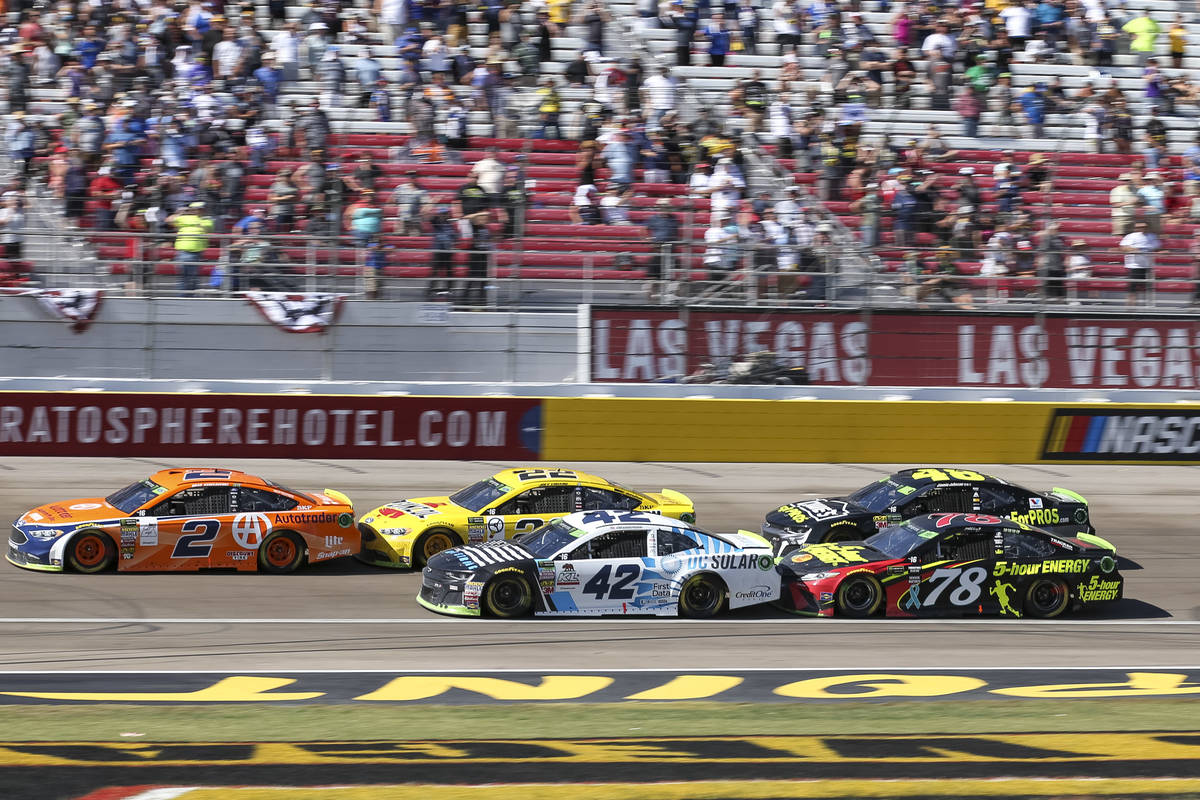 LVMS won't have spectators for NASCAR playoff race