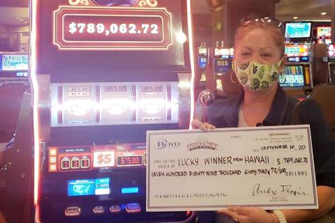 Louise (no last name given) not only won a $789,000 jackpot on Wednesday, Spet. 16, 2020, she w ...