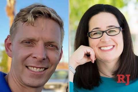 StevenDeLisle and LesleyCohen, candidates for Nevada Assembly District 29. (Facebook)