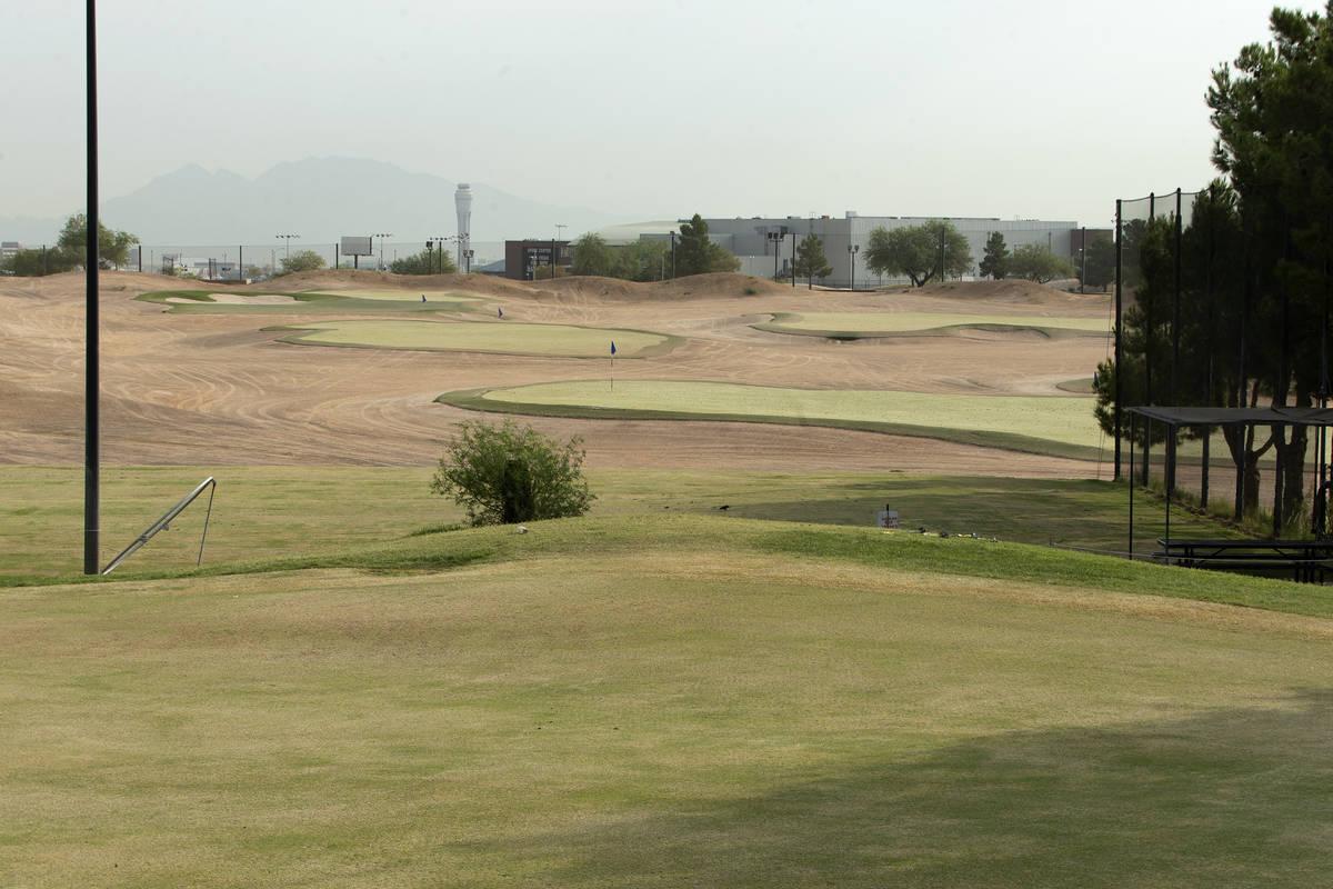 Las Vegas Golf Center is open on Friday, Sept. 18, 2020, in Las Vegas. (Ellen Schmidt/Las Vegas ...