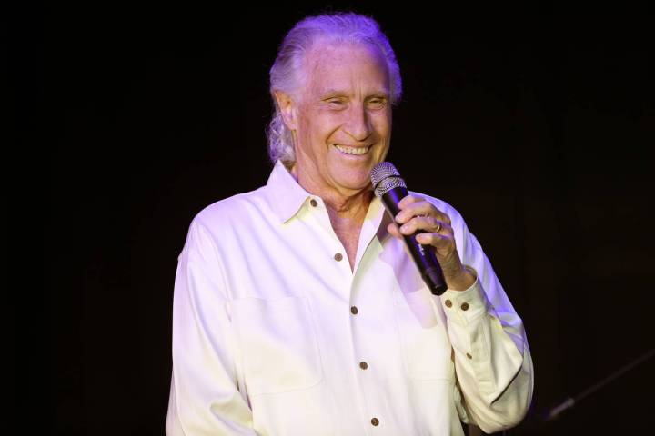 Bill Medley of the Righteous Brothers participates during a new streaming series with Broadway ...