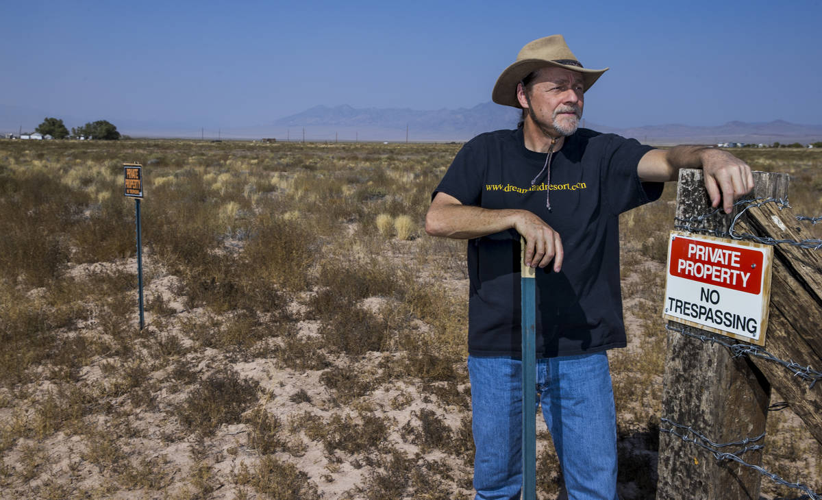 Rachel webmaster Joerg Arnu on his property where he creates websites including the one adverse ...