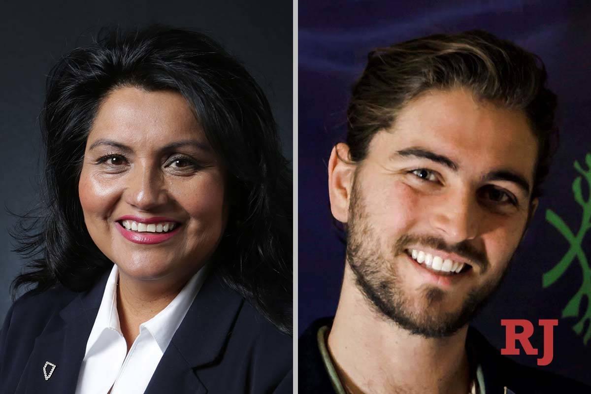 Susan Martinez and JohnCardiffGerhardt (Las Vegas Review-Journal/Courtesy)