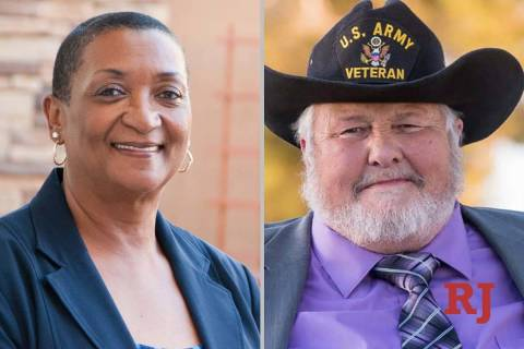 Claire Thomas and Jack Polcyn, candidates for Nevada AssemblyDistrict17(Courtesy)
