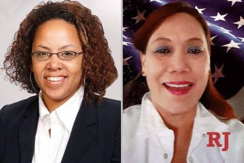 DinaNeal, left, and EsperHickman, candidates for Nevada SenateDistrict4 ...