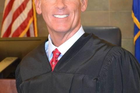 Clark County District Court Judge Douglas Herndon.