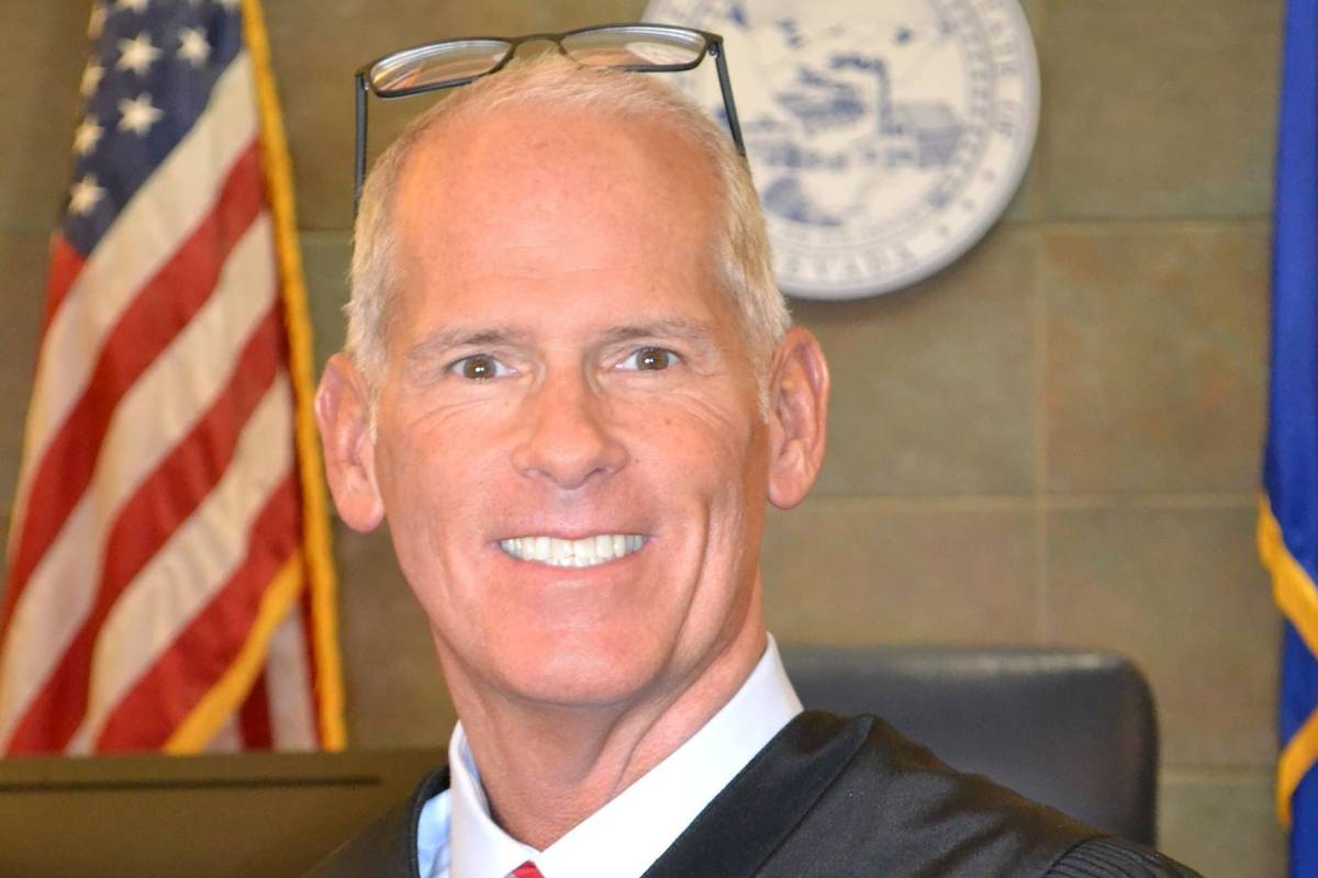 Clark County District Court Judge Douglas Herndon (courtesy)