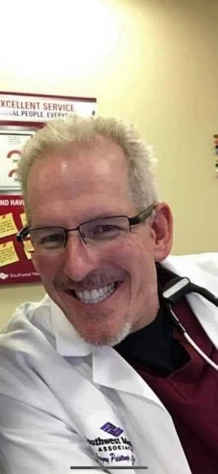 Greg Peistrup, APRN, ENP-C, CFRN, CEN, at North Vista Hospital in 2020. (Courtesy Kristin Bell- ...