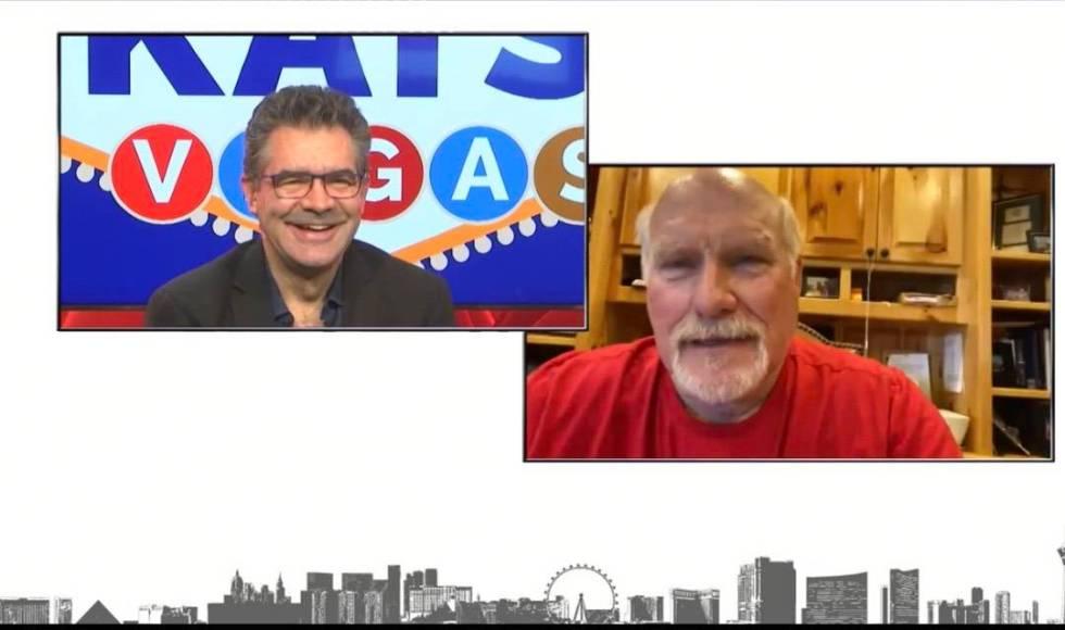 Review-Journalist columnist John Katsilometes interviews Terry Bradshaw on Skype on Wednesday, ...