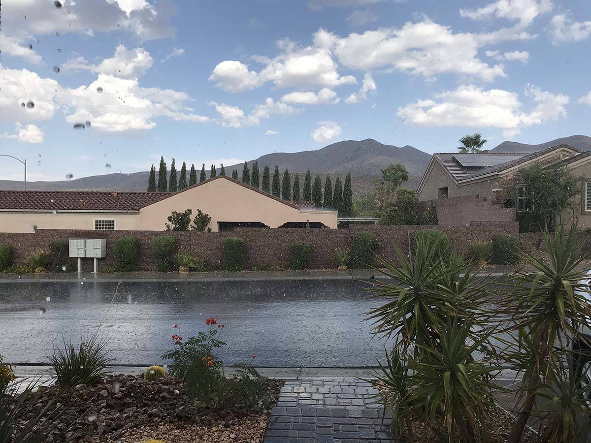 Las Vegas Weather Dry Spell Continues Despite Some Rain In Area Las Vegas Review Journal