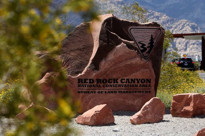 Red Rock Canyon National Conservation Area (Rachel Aston/Las Vegas Review-Journal) @rookie__rae