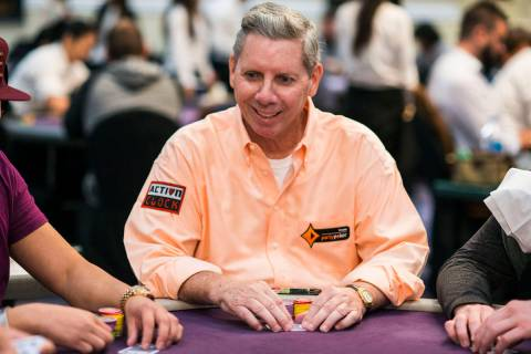 Mike Sexton, seen in an undated file photo, died Sunday at 72. He was a member of the Poker Hal ...