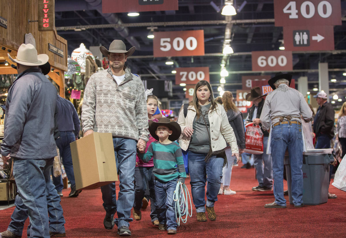 Cowboy Christmas 2020 At The National Finals Rodeo Cowboy Christmas, Junior World Finals to leave Las Vegas with NFR