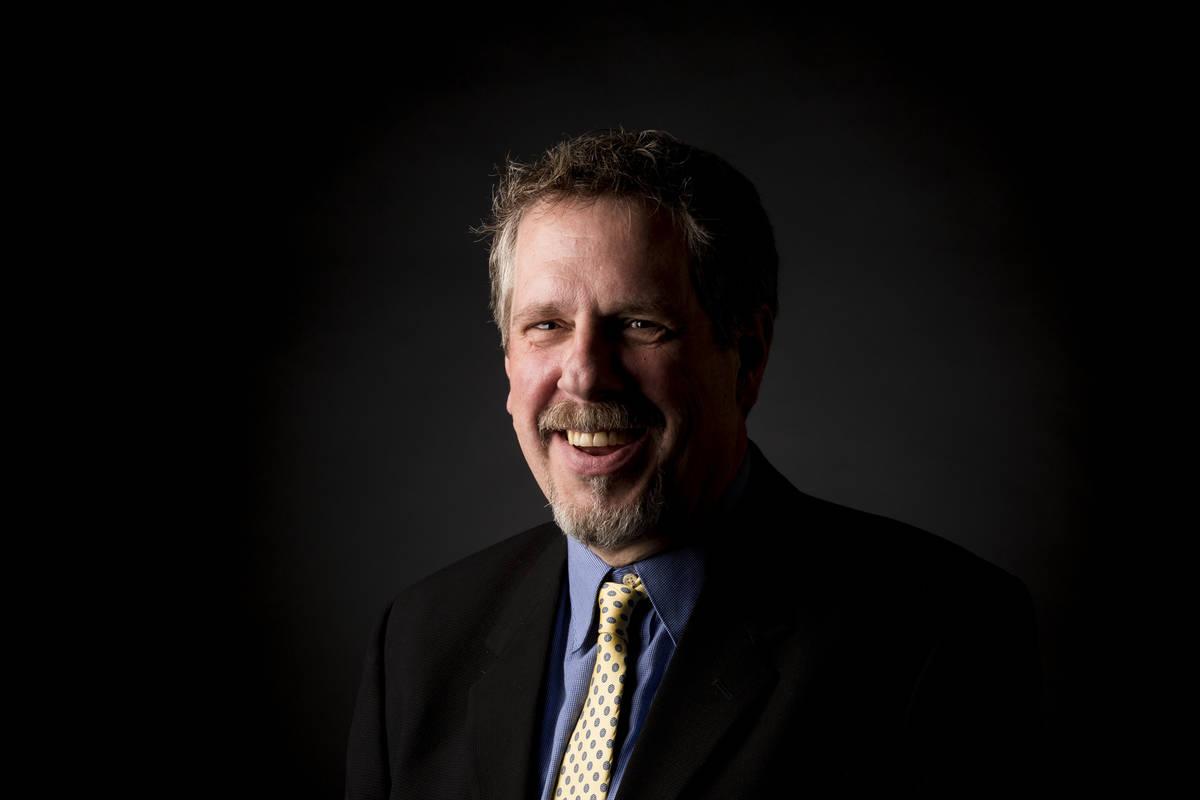 Editorial artist Wesley Rand at the Las Vegas Review-Journal Studio in Las Vegas, Wednesday, Ju ...