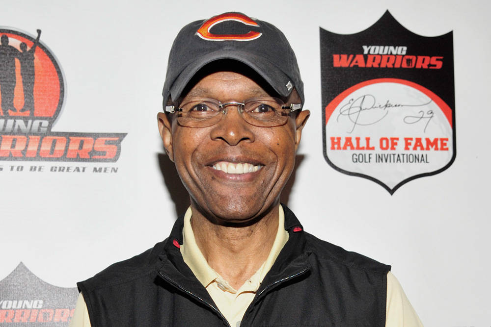 Chicago Bears Hall of Fame running back Gayle Sayers as died at age 77. (Getty Images)
