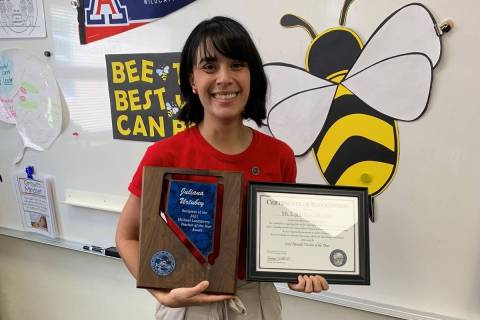 Booker Sr. Innovative Elementary School learning strategist Juliana Urtubey was named Wednesday ...