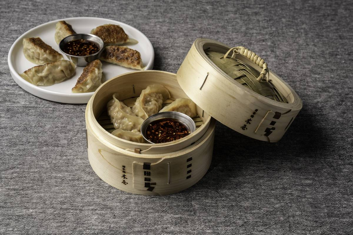 Dumplings were among the first items confirmed for the menu at 8 East. (Mark Medina)