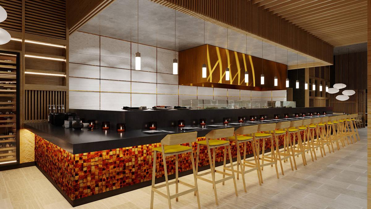 Artist rendering of the 8 East interior. (Steelman Partners)