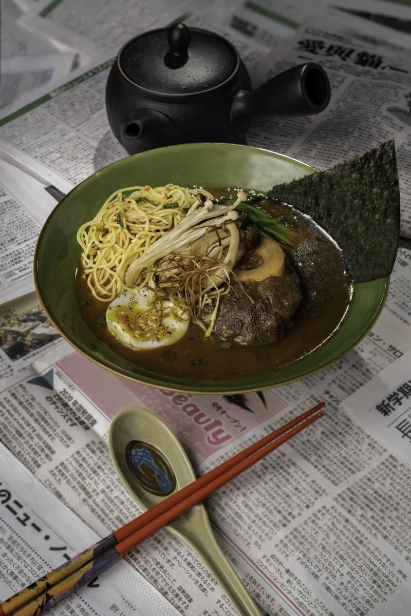 Circa's 8 East will offer various Asian cusines, including ramen. (Mark Medina)
