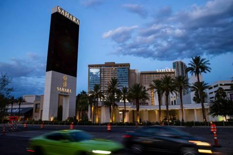 Sahara Las Vegas, July 21, 2020 (Chase Stevens/Las Vegas Review-Journal) @csstevensphoto