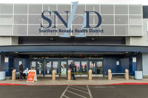 Southern Nevada Health District in Las Vegas. (L.E. Baskow/Las Vegas Review-Journal) @Left_Eye_ ...