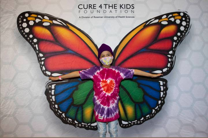Miley Macias, 8, poses for a photo during the opening ceremony of the state's first in-clinic l ...