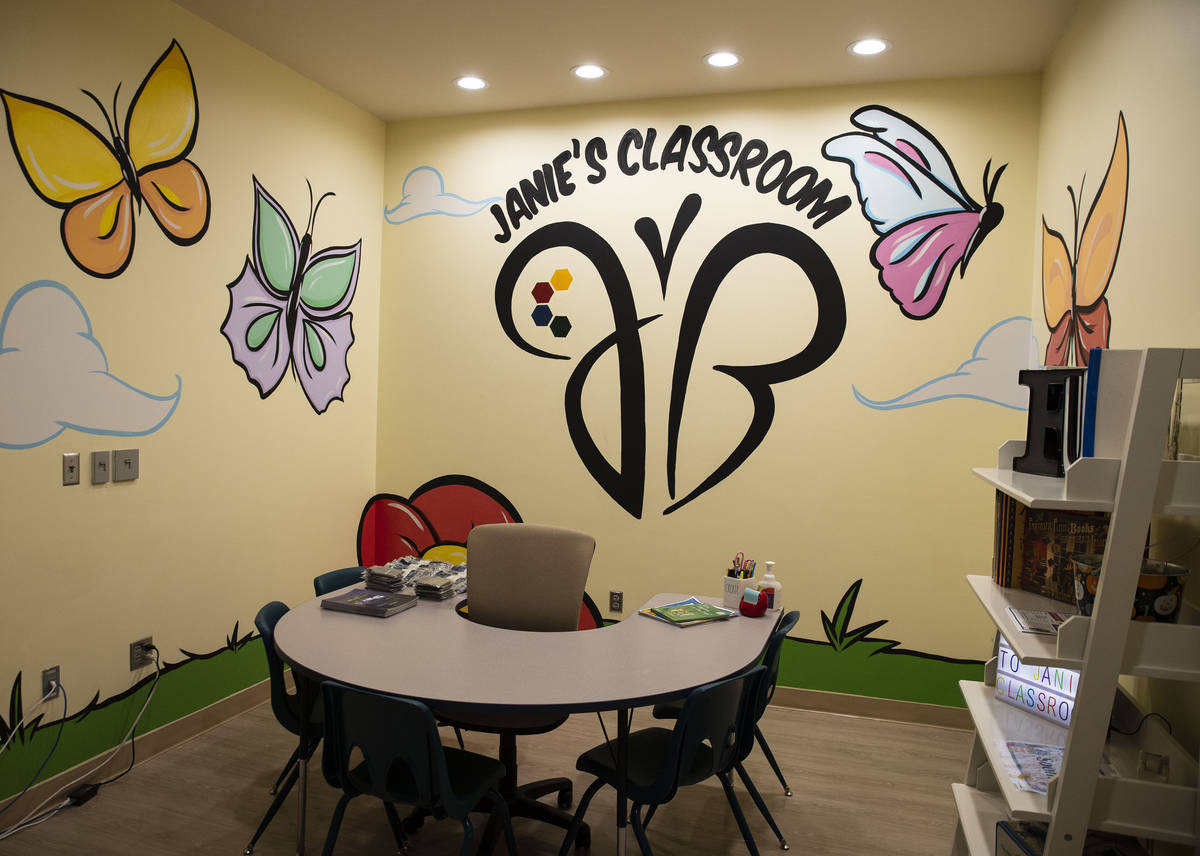 The state's first in-clinic learning center for pediatric cancer patients at Cure 4 the Kids Fo ...