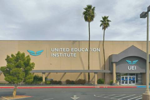 United Education Institute in Las Vegas (screengrab)
