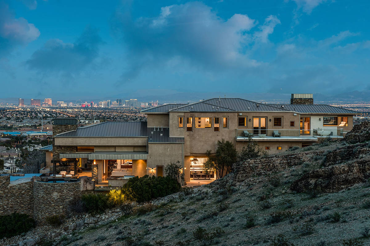 The Summerlin home sold for for $10.15 million. (Simply Vegas)