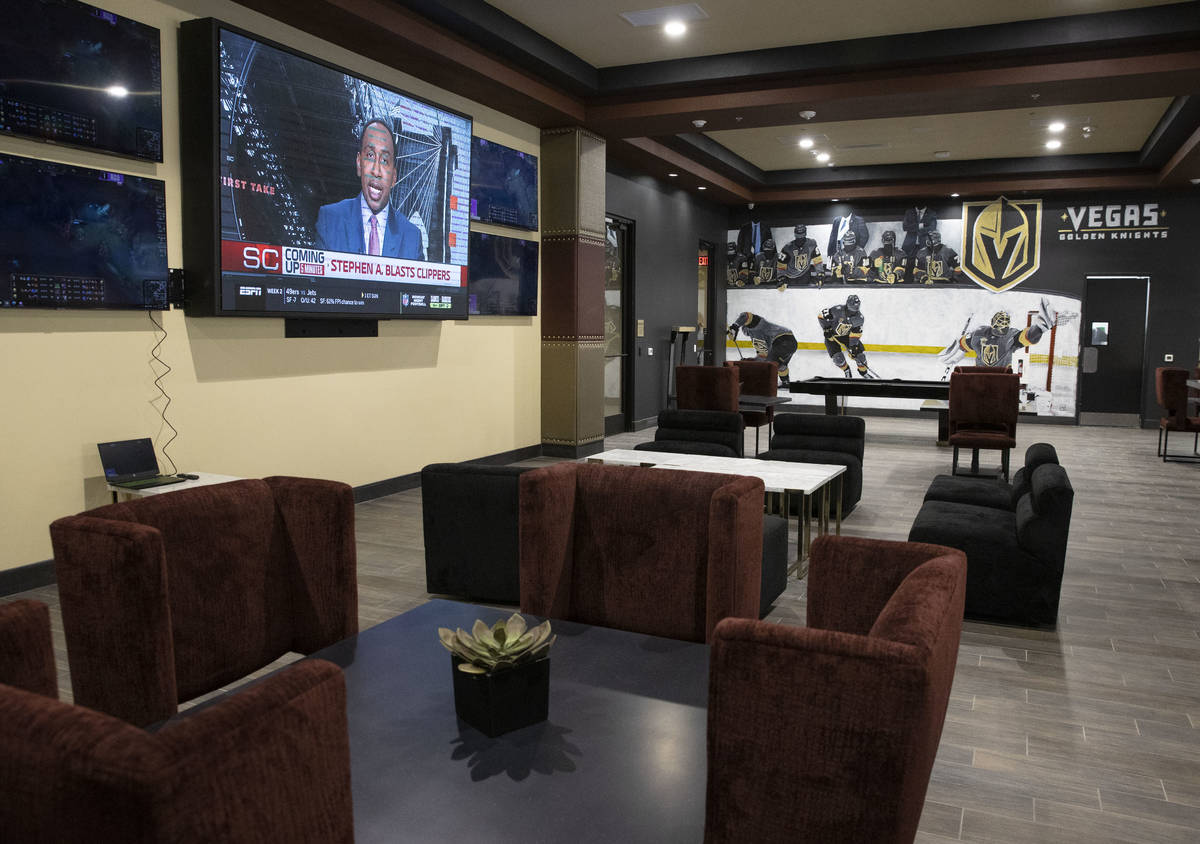 Becca's sports bar and lounge at the Tuscan Highlands apartment complex under construction near ...