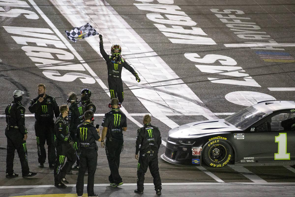 Kurt Busch wins South Point 400 NASCAR playoff race at Las Vegas | Las Vegas  Review-Journal