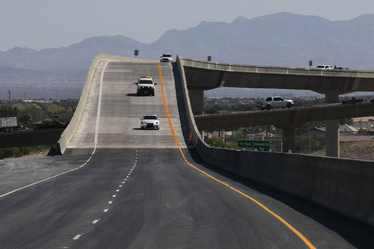 The 2,635-foot-long flyover and the state's second longest bridge which connects northbound U.S ...