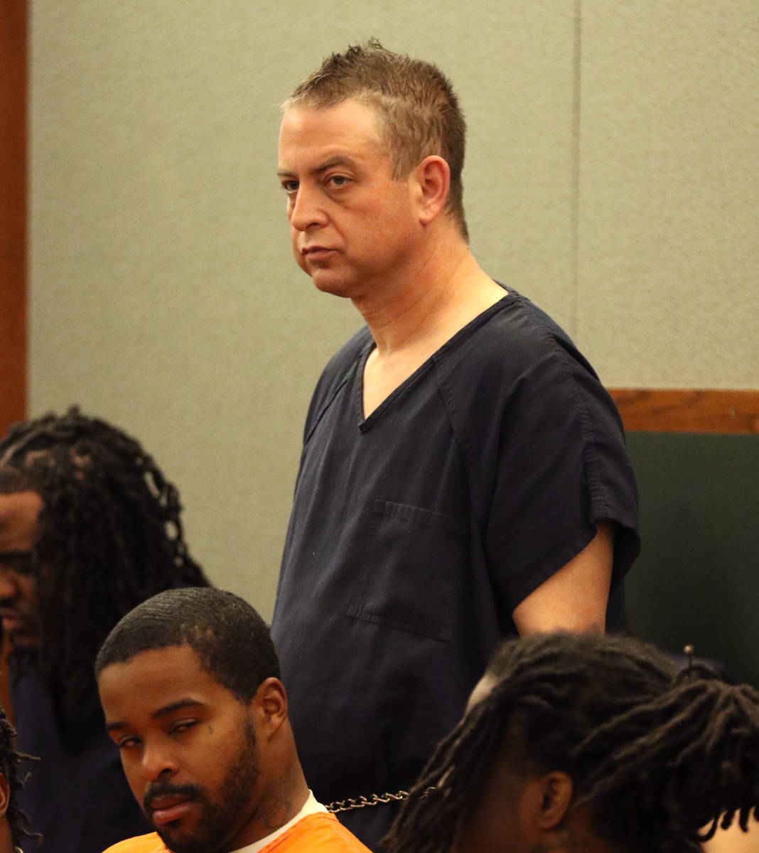 Christopher Prestipino, charged in the slaying of Esmeralda Gonzalez, appears in court at the R ...