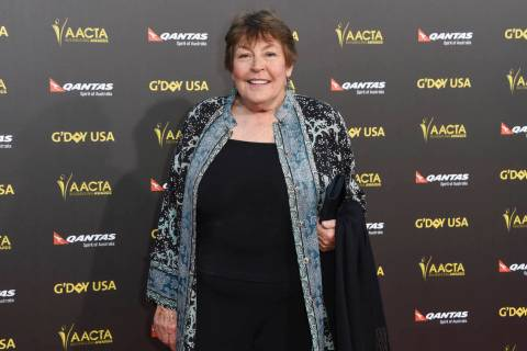 In this Jan. 31, 2015, file photo, Australian-born singer Helen Reddy attends the 2015 G'DAY U ...