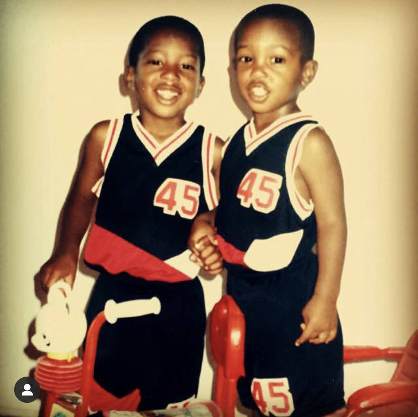 Kenny Keys poses for a photo with his brother, Kendal. Courtesy Kendal Keys.