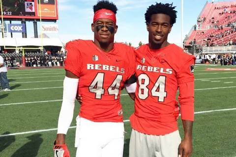 Kenny Keys (left) poses for a photo with his brother, Kendal. Courtesy Kendal Keys.