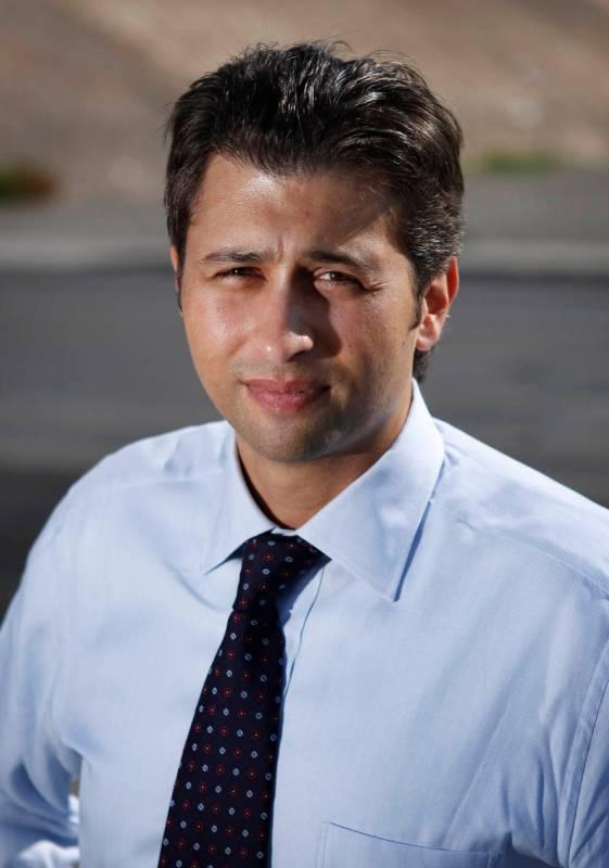 Attorney Brian Padgett in October 2011 in Las Vegas. (John Locher/Las Vegas Review-Journal)