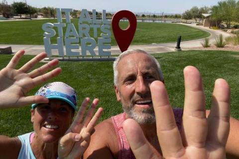 Korey and Ele Nance moved from Northern Utah to Southern Nevada, and found their home at Cadenc ...